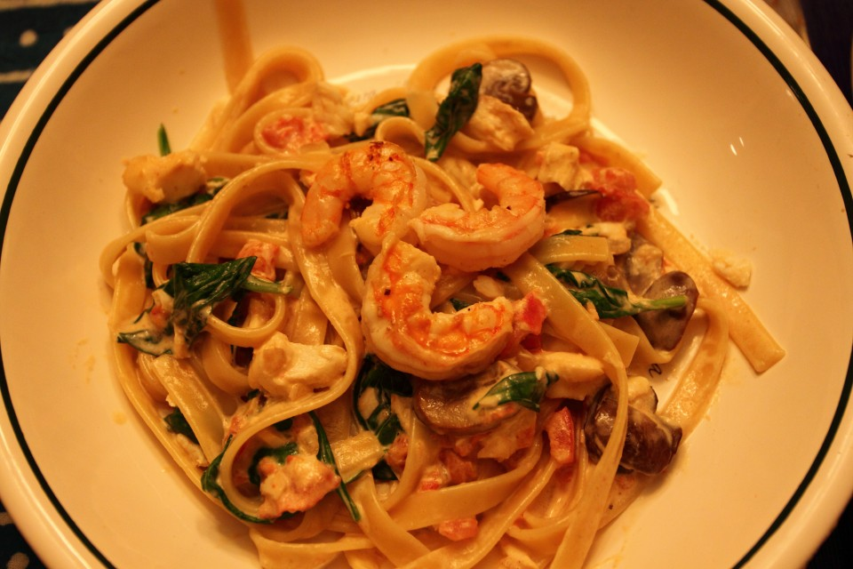 Halibut and Shrimp Fettuccine – Cooking 4 the Halibut–Alaskan ...