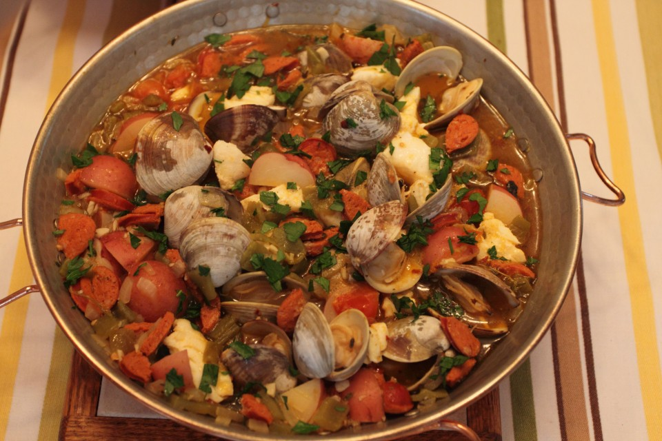 portuguese fish stew in cataplan cooking 4 the halibut